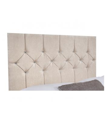 Belle Chenille Crystal Hand Tufted Headboard