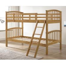 Barbican Oak Hardwood Finished Single Bunk Bed | Bunk Beds (by Interiors2suitu.co.uk)