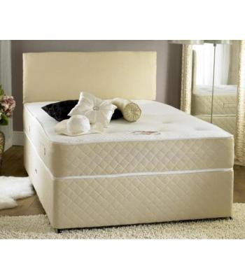 Anti Stress Firm Comfort Mattress Divan Set by Beauty Sleep