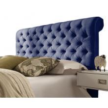 Elwood Linen Classic Scrolled Tufted Floor Standing Headboard | Headboards>Floor Standing (by Interiors2suitu.co.uk)