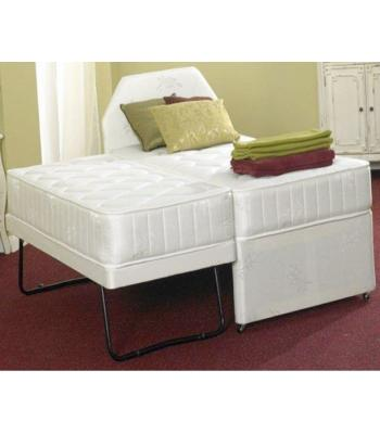 Sapphire Orthopaedic  Damask Mattress Guest Trundle Bed