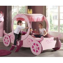Girls Princess Pink Carriage Bed | Kids Beds (by Interiors2suitu.co.uk)