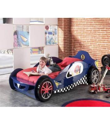 Kids Blue Mclaren Single Racing Car Bed