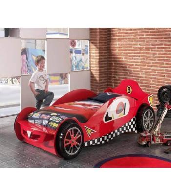 Kids Red Mclaren Single Racing Car Bed