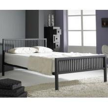 Alaska Black Finished Modern  Metal Bedstead | Metal Beds (by Interiors2suitu.co.uk)